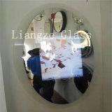 Verre à vitres plat personnalisé de miroir intelligent de salle de bains de 8mm