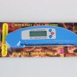Pantalla LCD de la batería del termómetro digital de alimentos