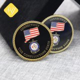 Commerce de gros prix d'usine Custom Cadeau souvenir Trolley Masonic Coin