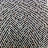 Puntos de colores, tejidos de lana de Tweed de lana tejido capa Hbt