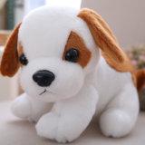 Het realistische Speelgoed van de Winkel van de Gift van de Douane van Ce van de Hond van de Pluche Zachte Gevulde