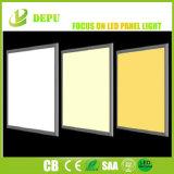 白いフレーム(3200 lm)の日光LEDの40W 60X60cm細いLEDのパネル