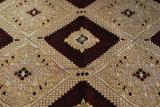 Tessuto classico del sofà del Chenille di stile del Medio Oriente da colore rosso