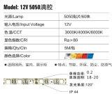12V 5050 IP44 (de lijmdekking van Pu) LEIDENE van Fleible SMD het Licht/de Energie van de Strook - besparingsLicht