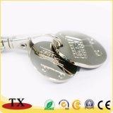 Fördernde Qualitäts-und preiswerte Einkaufen-Laufkatze-Scheinmünzen-Schlüsselkette
