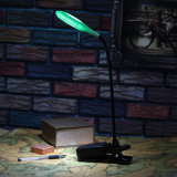 Luz flexível da mesa do diodo emissor de luz com grampo (92-1J1723)