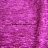 Panno morbido di effetto di stampa del catione micro, tessuto del rivestimento (prugna)