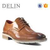 Горячие продажи новой конструкции коровы кожаную обувь повседневная обувь для мужчин
