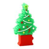 Movimentação do flash do USB do PVC do presente da promoção do Feliz Natal do produto novo