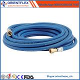 Boyau bleu flexible de l'oxygène de Rubebr