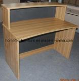 Mesa da mobília de escritório do cartão da melamina da mesa de escritório da tabela da recepção