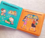 Cartoon Baby Bath livre en plastique