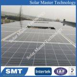 장기 사용 금속은 지붕과 지상 태양 전지판 장착 브래킷을 설치한다