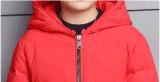 Drei Farben wärmen Winter-unten Umhüllung für Jungen