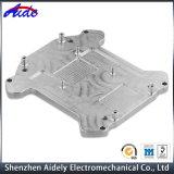 Piezas del aluminio del metal de hoja del CNC de las industrias que trabajan a máquina del automóvil