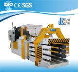 Hba120-110125 o Ce, GV qualificou máquinas de empacotamento da prensa horizontal hidráulica