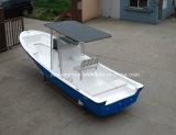 Шлюпка пассажира FRP рыбацкой лодки стеклоткани Liya 25FT с сенью Hardtop