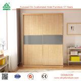寝室セットフランス様式の現代家具の木の引き戸のワードローブ