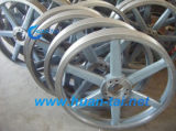 Customized Cast Steel Mines Because Wheels with Wide Range