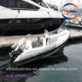 6.4 Bateau de pêche des mètres FRP/Hypalon/PVC