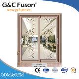 G&C Fuson puerta corrediza de aluminio para baño