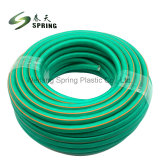 De flexibele Slang van de Tuin van pvc Groene met Regelbare Pijp