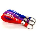 Venda por grosso de PVC maleável personalizáveis Moda Keyring, Borracha Keychains