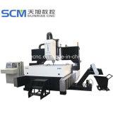 Haute vitesse machine de forage CNC Siemens pour les brides des plaques en acier
