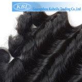 Extensions 100% brésiliennes de cheveu d'onde de corps de cheveux humains de Vierge (KBL-BH-LW)