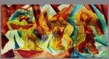 Jet d'encre de la machine abstraite Paintins d'huile