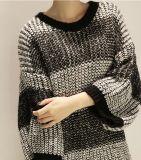 Pistes tricotées par production initiale d'OEM à de longs chandails de genoux