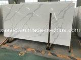 熱い販売の異なったカラーの人工的な石造りのCalacattaの白い水晶平板は工場を指示する
