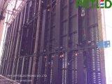 Alta tenda trasparente di P8.928 LED con il comitato di alluminio 500* 1000 millimetri per dell'interno/esterno