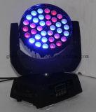 Fabrik-heißer Verkauf! 36X10W 4in1 RGBW LED wäsche DJ-Beleuchtung des bewegliche Hauptwäsche-helle Stadiums-LED bewegliche Haupt