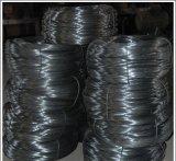Schwarzer Stahldraht für Aufbau