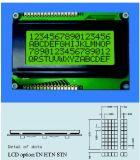 Stce16400 ohne Hintergrundbeleuchtung LCD-Bildschirmanzeige für wiegende Schuppen