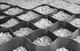 Het vlotte Geweven Ultrasone Lassen Geocell van de Oppervlakte