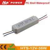 12V 35W PC 쉘 Ce/RoHS를 가진 방수 LED 전력 공급