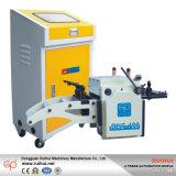 Nc de alta velocidad automática Alimentador de rollos de servo se ejecutan con la máquina de estampación