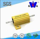 알루미늄은 Wire-Wound 힘 저항기 Rx24 고전압 저항기를 수용했다