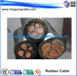 Лента Screened/PVC кабель Insulated/PVC Cu обшитый/бронированный/компьютер/аппаратура