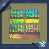 Het hoge Glanzende Hologram van de Sticker van de Kleur van de Regenboog