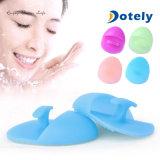 Épurateurs faciaux de peau de face de garnitures de nettoyage de balai de silicones flexibles