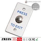 Aluminiumtür-Freigabe-Ausgangs-Taste für Zugriffssteuerung