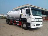 Sinotruk 6X4 HOWO 18000L Abwasser-Absaugung-Vakuumabwasserkanal-LKW