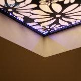 Экран верхней части металла картины отрезока лазера крышки сада
