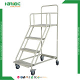 Supermarkt-und Lager-Metallplattform-Strichleiter-LKW