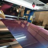 Matériau de construction de la peinture de couleur Deaorative Roofing Rouleau en aluminium
