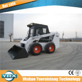 Vente chaude Mini tractopelle petits chargeurs Skid Steer