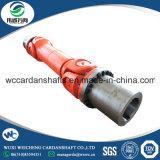 SWC490A-3550 Cardán de enrollar el cable de la máquina con el eje de instalar el manguito